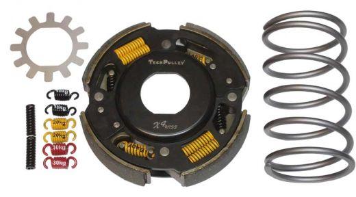 Powerclutch TPX4K160-C+TS grey
