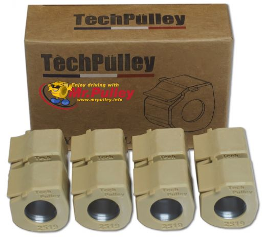 TechPulley Sliding roll FR2516/8-15