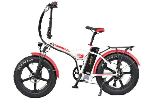 SMARTbike BigFoot (black-red)