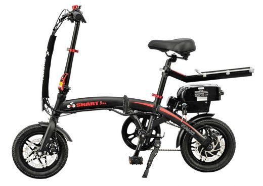 SMARTbike NANO (black-red)