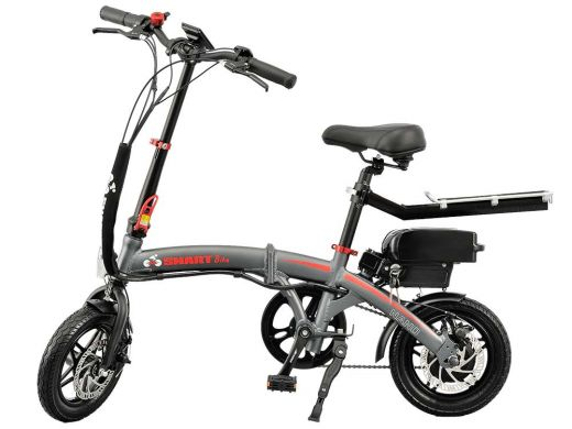 SMARTbike NANO (grey-red)